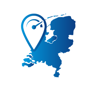 Breedbanddekking in Nederland